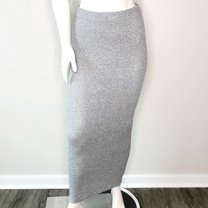 LOVE CULTURE Maxi Skirt Gray